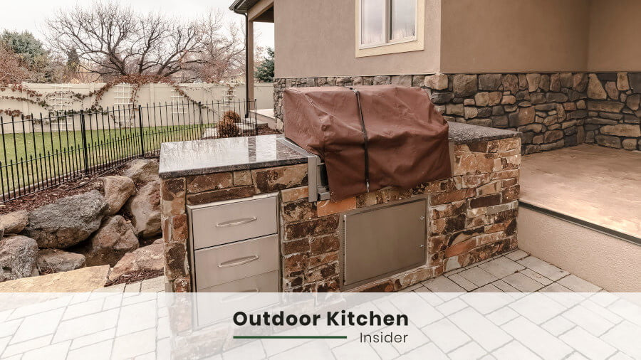 how to build an outdoor kitchen on a budget? pre-used sets