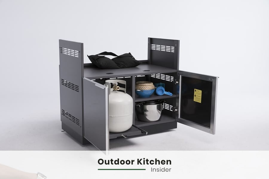 modular outdoor kitchen are much faster to onstruct