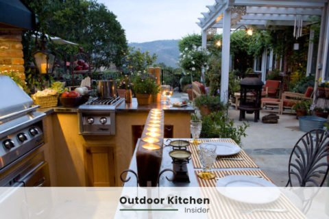 outdoor kitchen ideas an island big