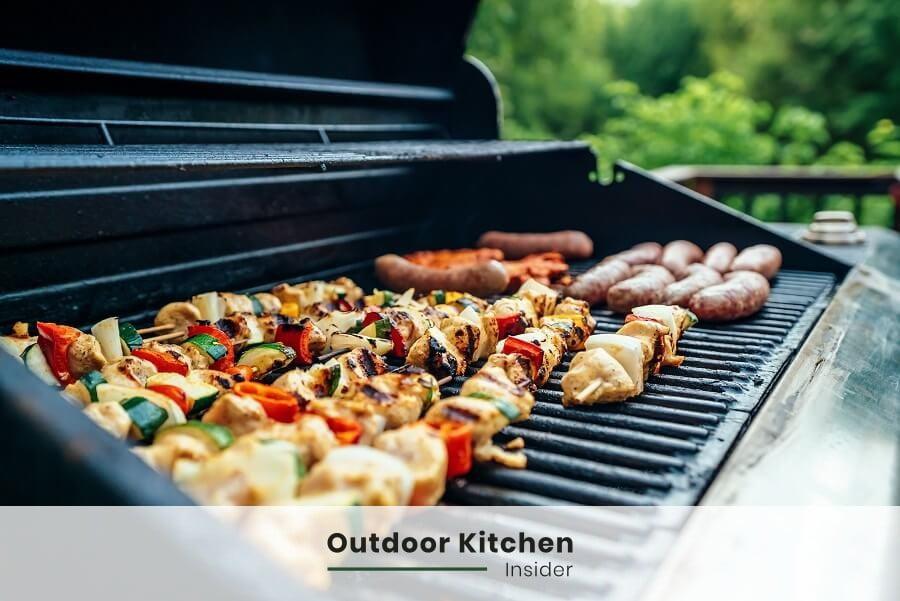 eat healthier thanks to an outdoor kitchen