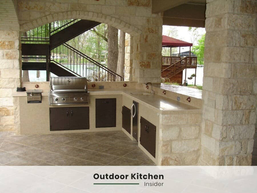 what is the best stone for outdoor kitchen
