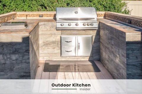 outdoor kitchen ideas u-shape small
