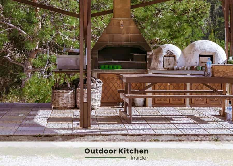 save on electrical bills with an outdoor kitchen