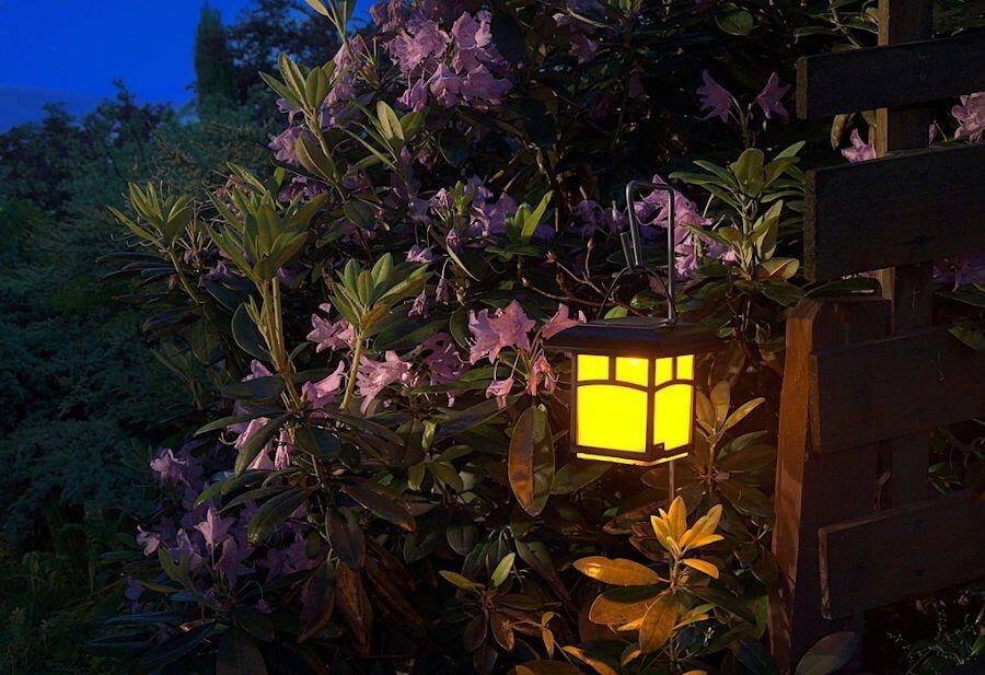 outdoor kitchen lantern