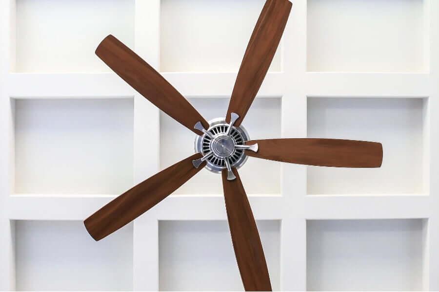 fan for a modern outdoor kitchen