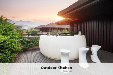 outdoor kitchen ideas bar