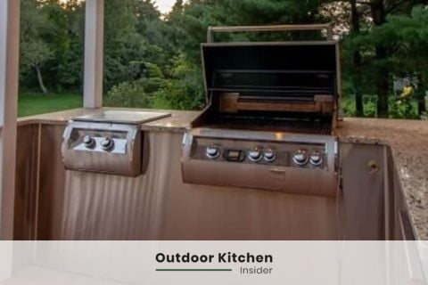 small outdoor kitchen ideas on a deck