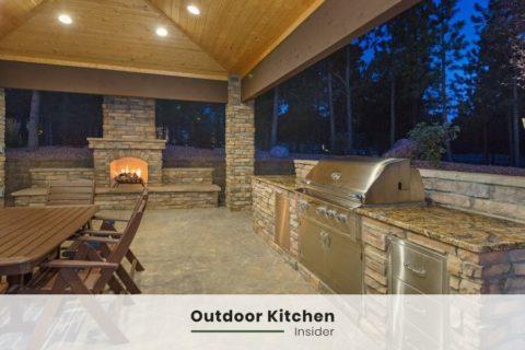 outdoor kitchen ideas l-shape