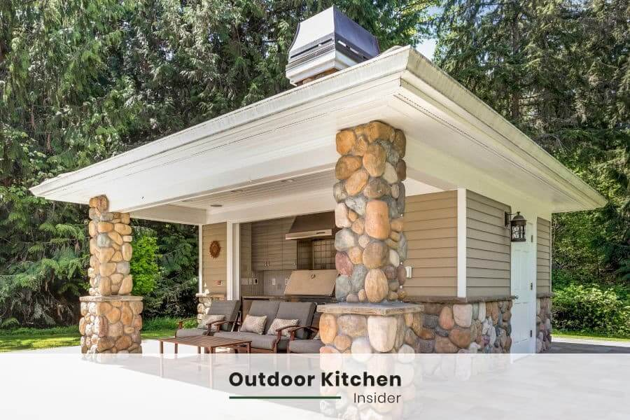 how to build an outdoor kitchen on a budget? what not to save on