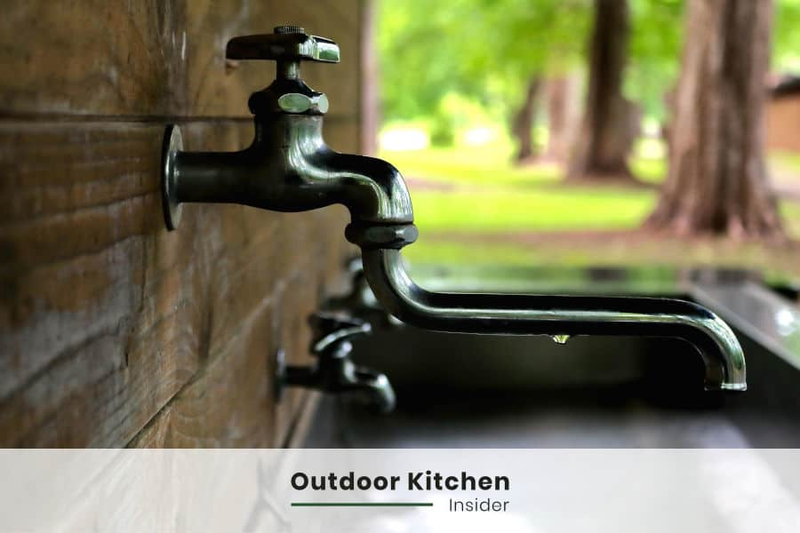 Outdoor Kitchen Essentials: Sink