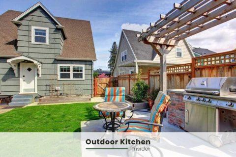 outdoor kitchen ideas pergola small