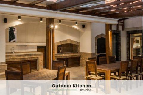 outdoor kitchen on a patio ideas