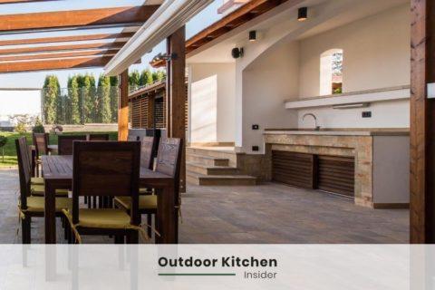 outdoor kitchen ideas lines