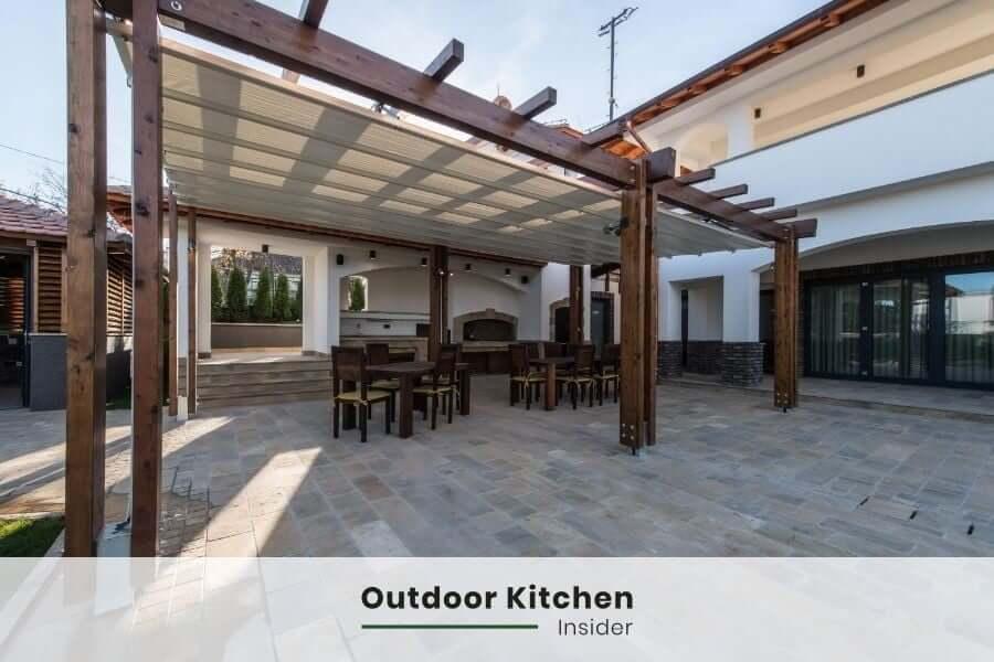 outdoor kitchen ideas pergola fancy