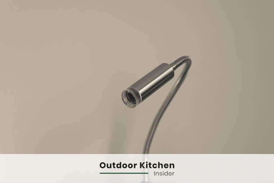 Outdoor kitchen lighting: Grill lights