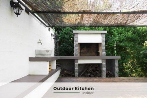 outdoor kitchen ideas pergola