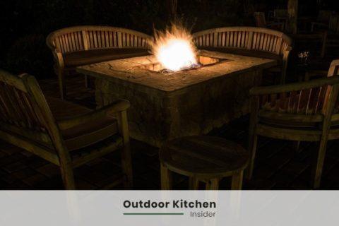 outdoor kitchen ideas rustic sitting