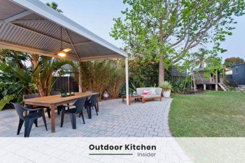 outdoor kitchen ideas gazebo