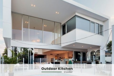 indoor outdoor kitchen ideas villa