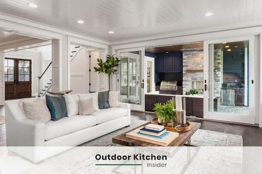 outdoor indoor experience outdoor kitchen ideas inside