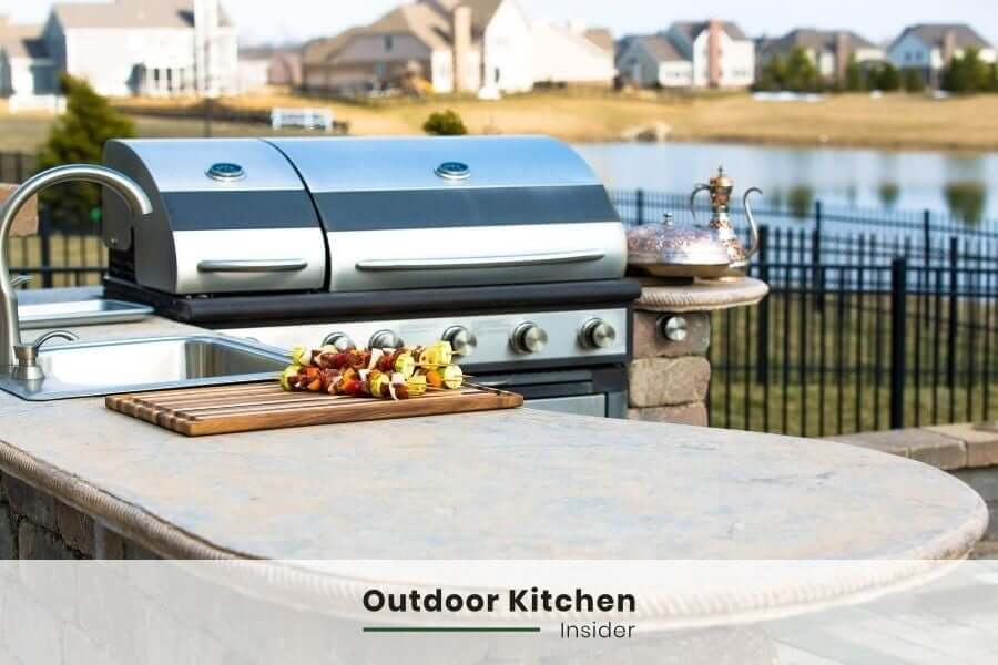 how to build an outdoor kitchen on a budget? select structure according to budget