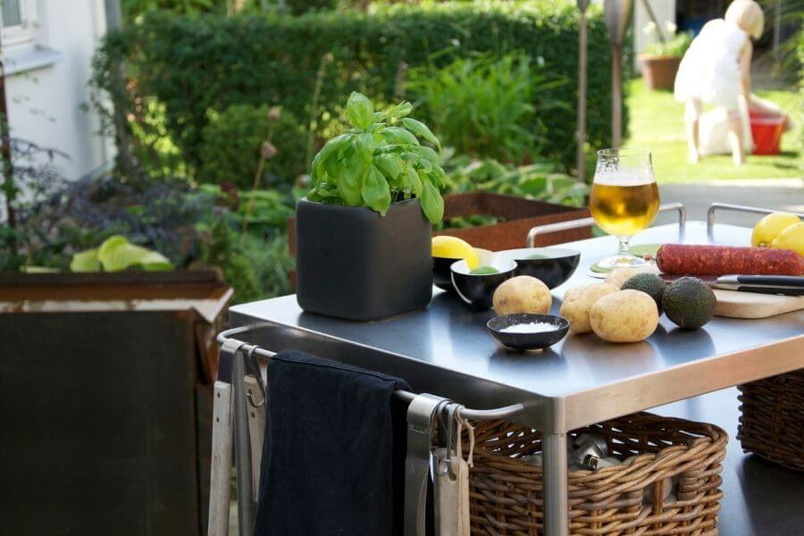 cart can be an essential part of a grill station