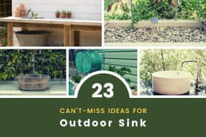 23 Outdoor Sink Ideas That Will Make Your Life Easier [Pics]