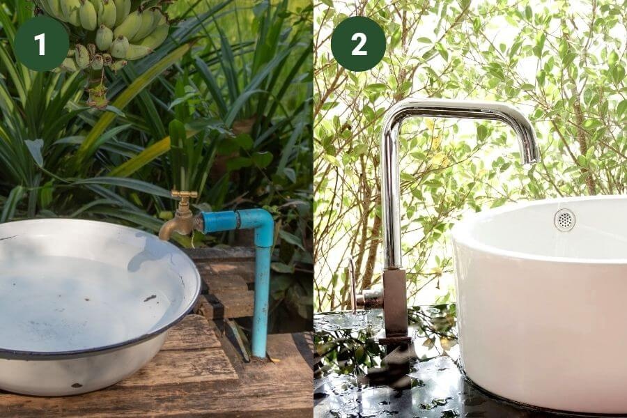 The price of an outdoor sink can vary a lot