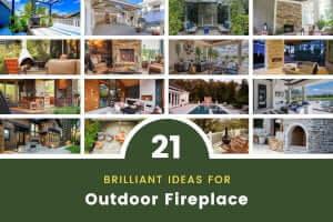 21 Brilliant Outdoor Fireplace Ideas (Modern, Portable, Steel)