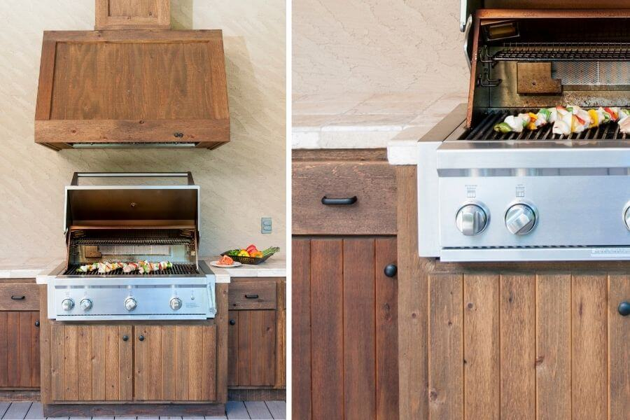 outdoor kitchen wood insulated jacket