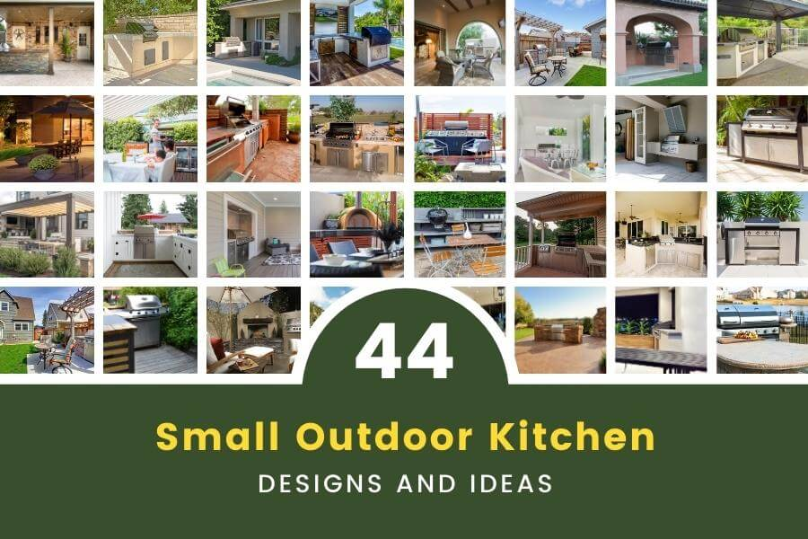 44 Small Outdoor Kitchen Designs and Ideas for Any Space