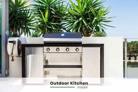 outdoor kitchen on a budget no permit
