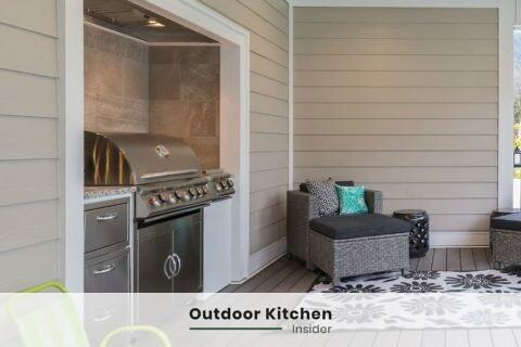 outdoor kitchen on a budget no sink