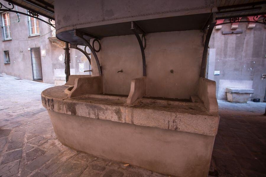 outdoor sink ideas mediterranean rustic
