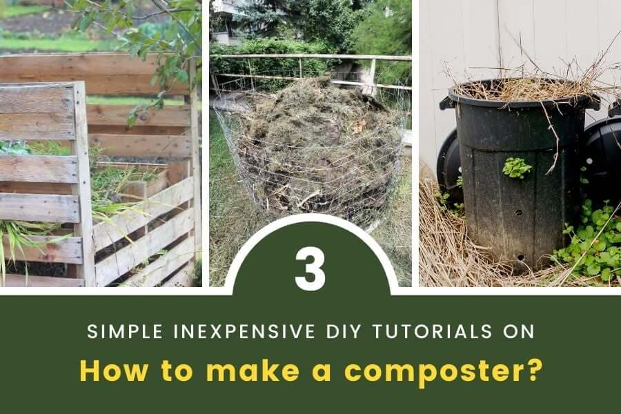 how to make a composter 3 simple inexpensive diy tutorials