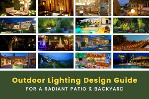Outdoor Lighting Design #101 for a Radiant Patio & Backyard
