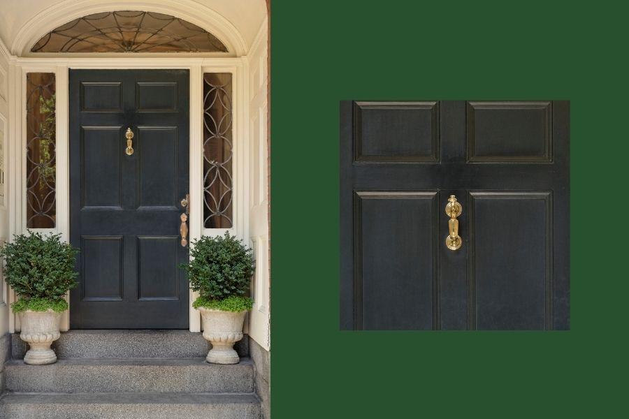 front door ideas a knocker