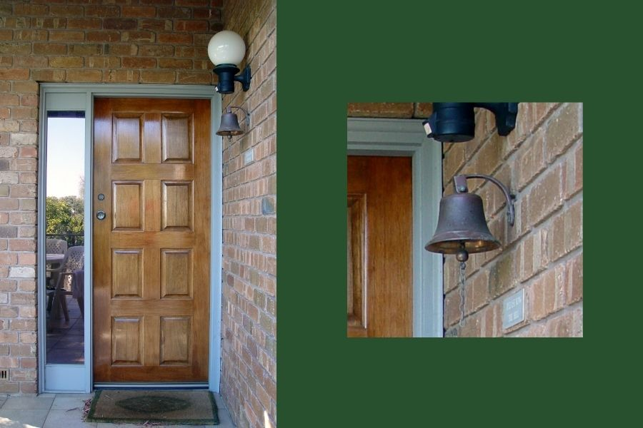 a bell at front door ideas
