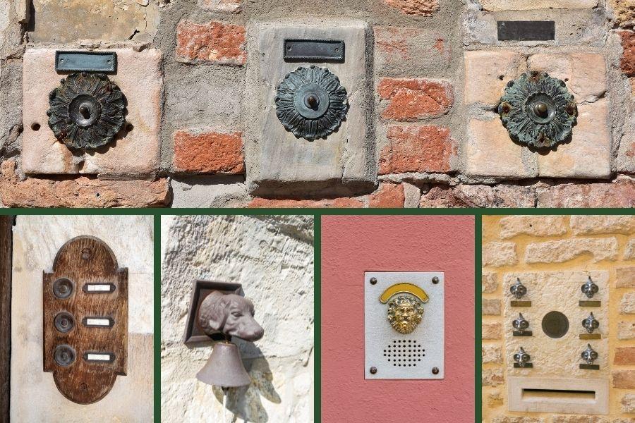 front door ideas doorbells