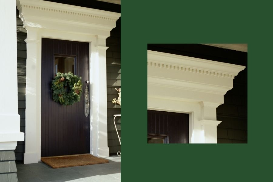 front door ideas trim