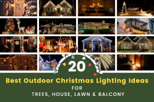 20 Best Outdoor Christmas Lights Ideas for Trees, House & More